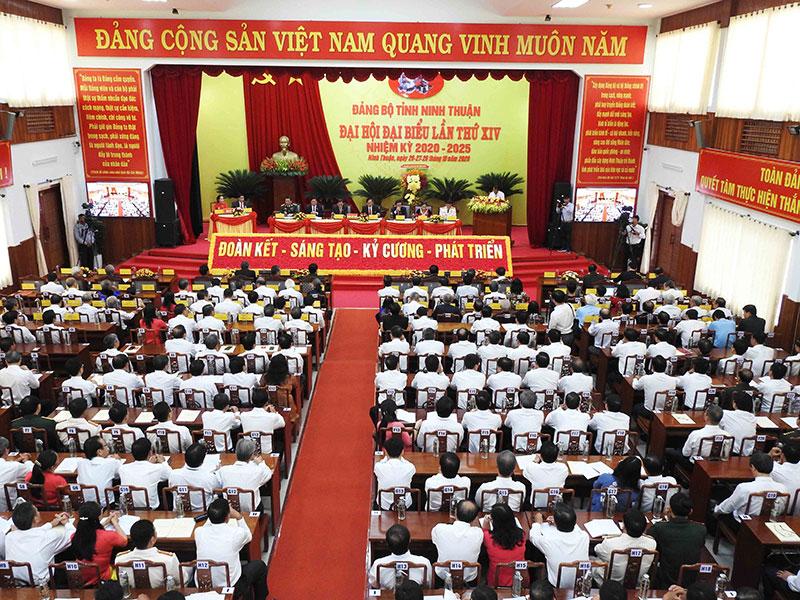 Khai mạc Đại hội Đại biểu Đảng bộ tỉnh Ninh Thuận lần thứ 14 -0