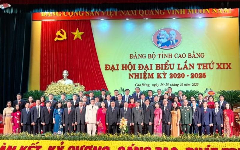 Đồng chí Lại Xuân Môn tái đắc cử Bí thư Tỉnh ủy Cao Bằng -0
