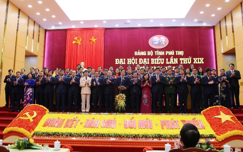 Đồng chí Bùi Minh Châu tái đắc cử Bí Thư Tỉnh ủy Phú Thọ -0