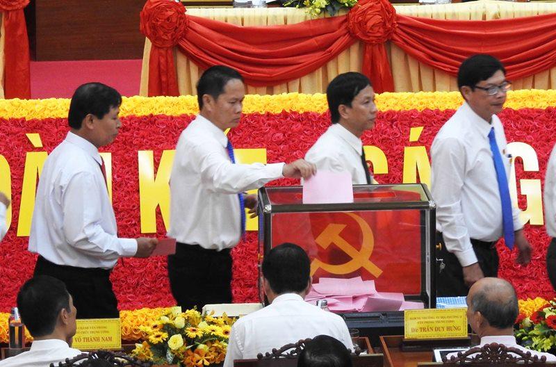 Đồng chí Nguyễn Đức Thanh tái đắc cử Bí thư Tỉnh ủy Ninh Thuận -0