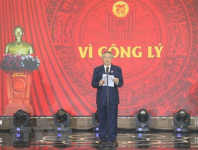 Chủ tịch Quốc hội Nguyễn Thị Kim Ngân dự Đại hội Thi đua yêu nước Tòa án nhân dân -0