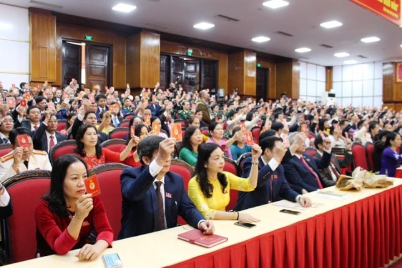 Đại hội Đảng bộ tỉnh Thanh Hóa lần thứ 19 thành công tốt đẹp -0