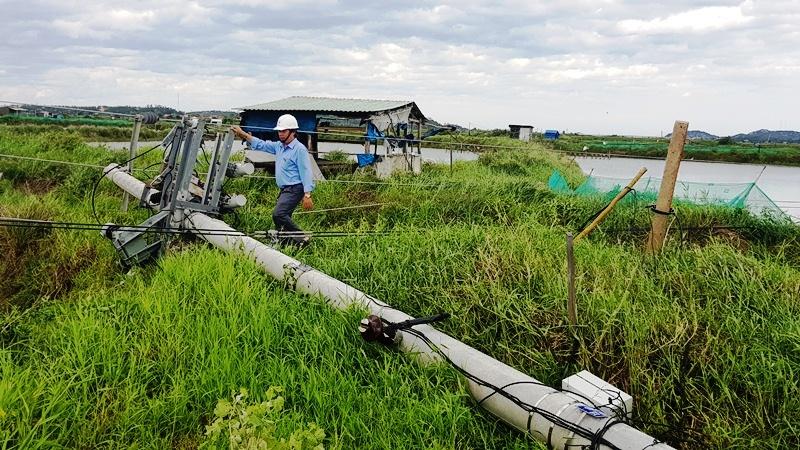 Các địa phương tập trung khắc phục hậu quả bão số 9 -0
