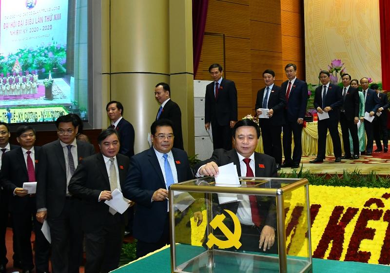 Đồng chí Huỳnh Tấn Việt trúng cử Bí thư Đảng ủy Khối các cơ quan T.Ư nhiệm kỳ 2020-2025 -0