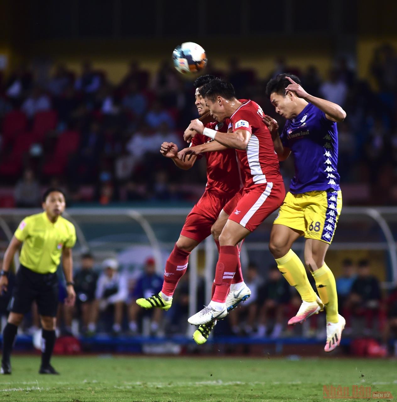 Hà Nội vs Viettel: Bất phân thắng bại -0