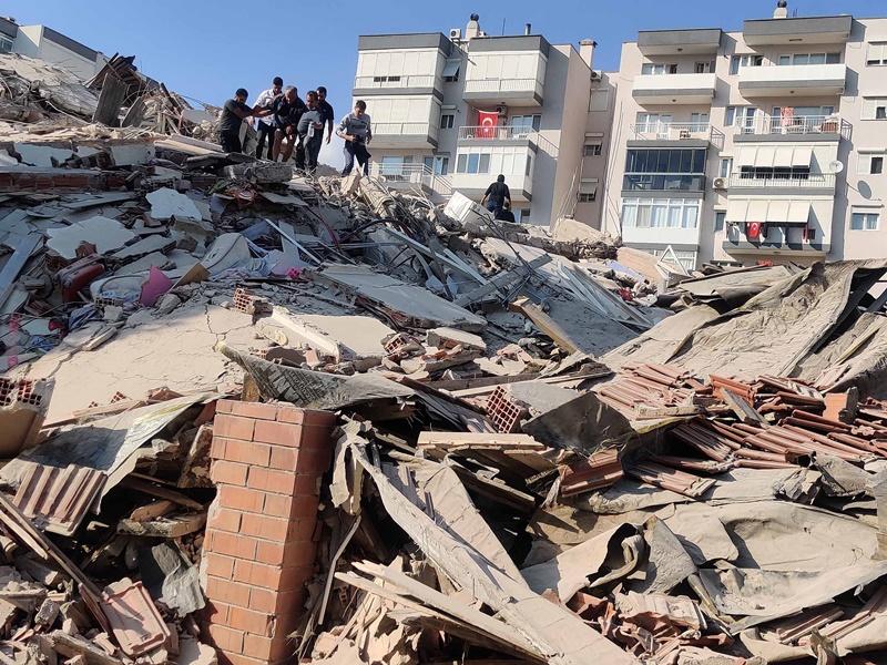 Động đất rung chuyển Thổ Nhĩ Kỳ và Hy Lạp, gây nhiều thương vong -0