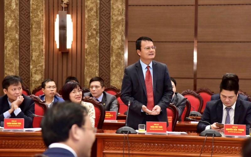 Lãnh đạo TP Hà Nội gặp mặt các cơ quan đại diện Việt Nam ở nước ngoài -0