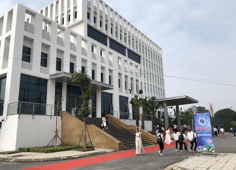 Trường đại học Nội vụ Hà Nội khai giảng năm học mới -0