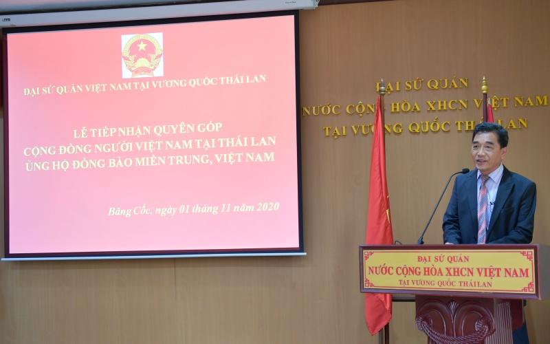 Cộng đồng người Việt Nam tại Thái Lan quyên góp hơn 3,7 tỷ đồng ủng hộ đồng bào miền trung -0