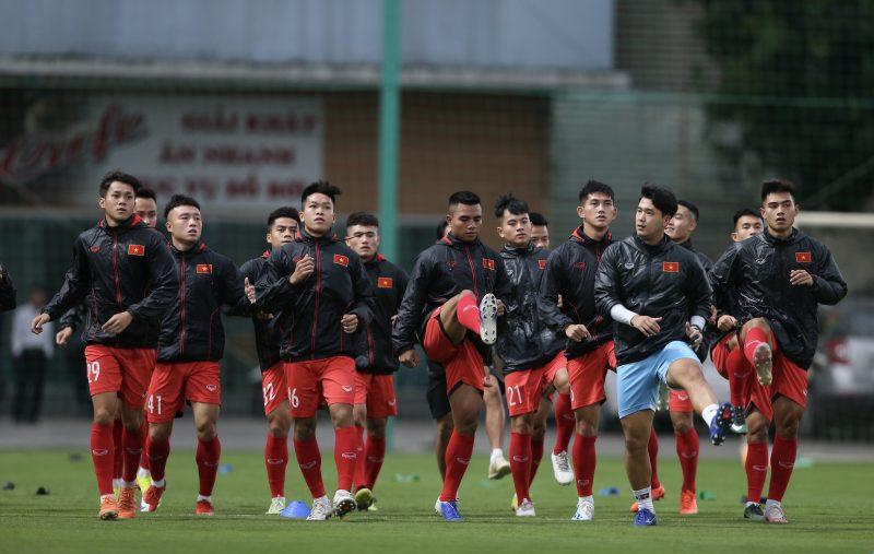 Cầu thủ U22 Việt Nam nỗ lực nắm bắt cơ hội trong đợt hội quân lần thứ 3 -0
