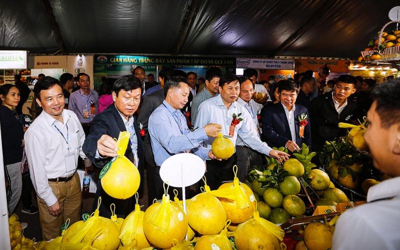 """Khai mạc """"Hội chợ Nông nghiệp và triển lãm sản phẩm OCOP vùng trung du miền núi phía bắc - Tuần lễ cam Cao Phong năm 2020"""" -0"""