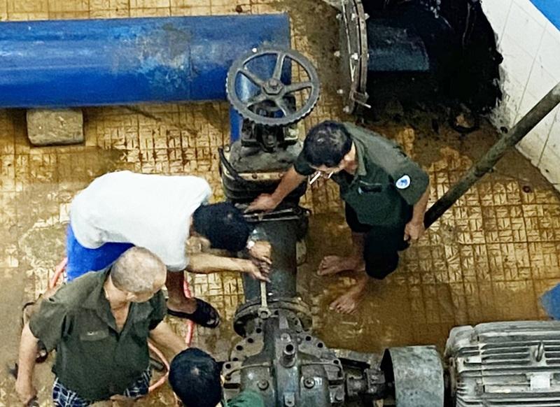 Quảng Trị dùng nước sạch để xử lý nước sinh hoạt phục vụ người tiêu dùng -0