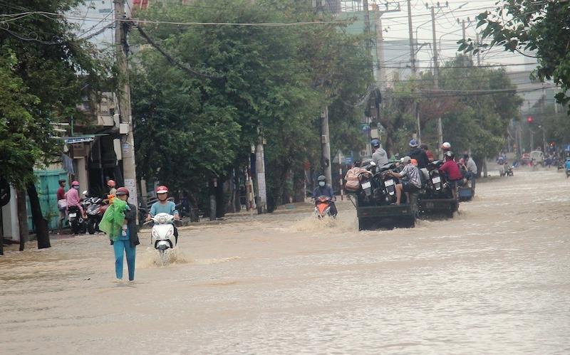 Bão số 12 gây nhiều thiệt hại tại Bình Định -0