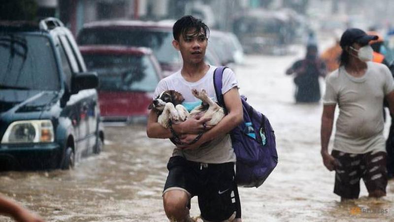 Bão Vamco càn quét đảo chính Luzon của Philippines -0