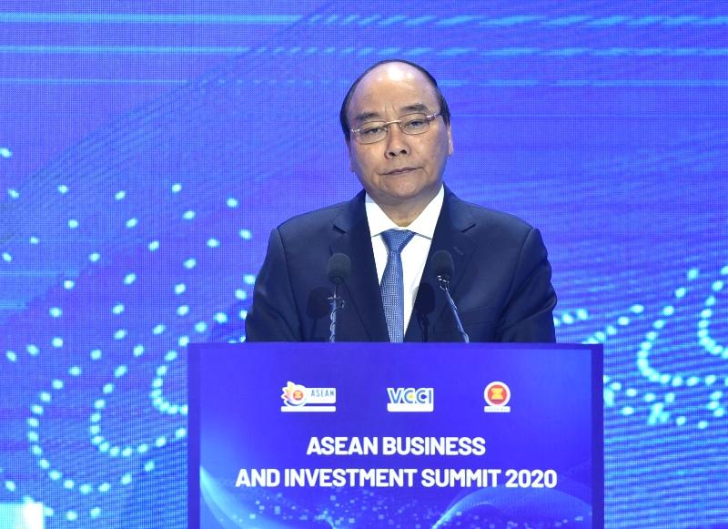Thủ tướng Nguyễn Xuân Phúc dự Hội nghị Thượng đỉnh Kinh doanh và Đầu tư ASEAN 2020 -0