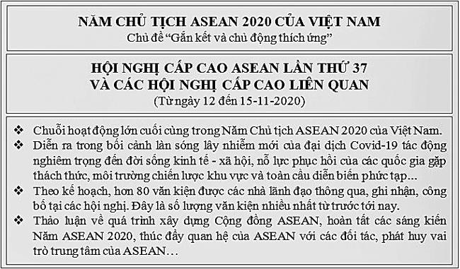 Việt Nam nỗ lực dẫn dắt ASEAN vượt qua thách thức -0