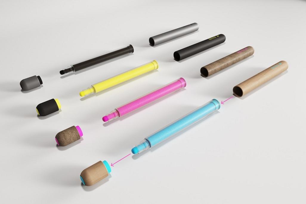Bút phân hủy được đầu tiên trên thế giới -0