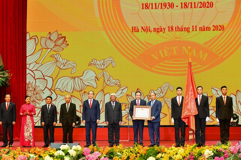 Kỷ niệm 90 năm thành lập Mặt trận Dân tộc thống nhất Việt Nam -0