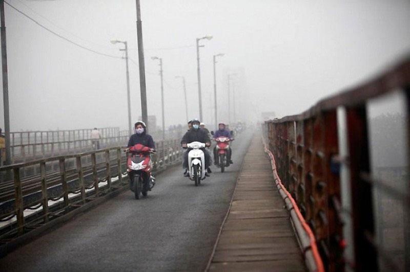 Bắc Bộ sáng sương mù, trưa chiều hửng nắng