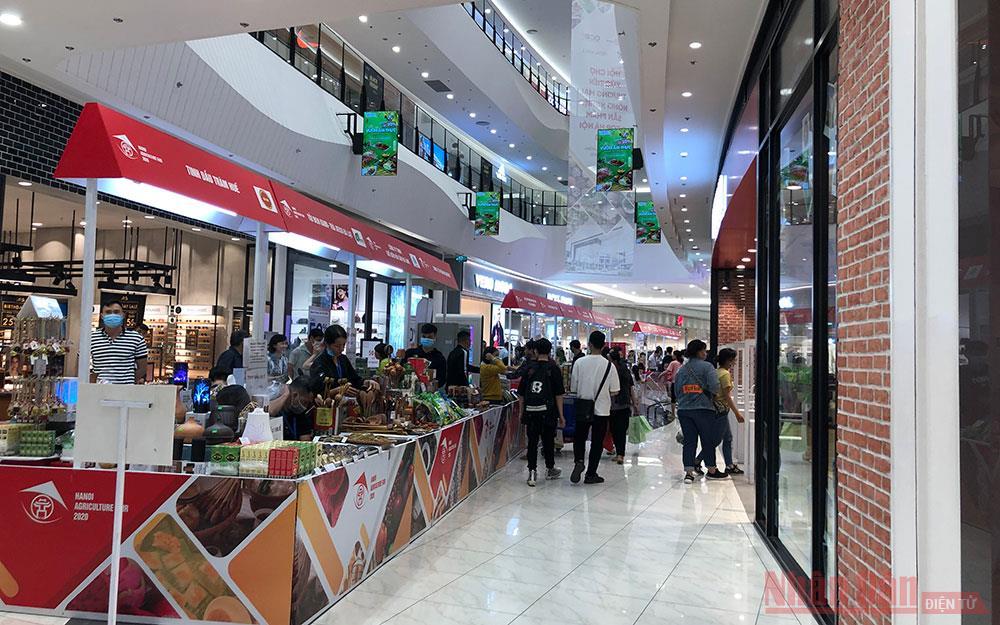 Giới thiệu nông sản an toàn tại Trung tâm thương mại Aeon Hà Đông -0