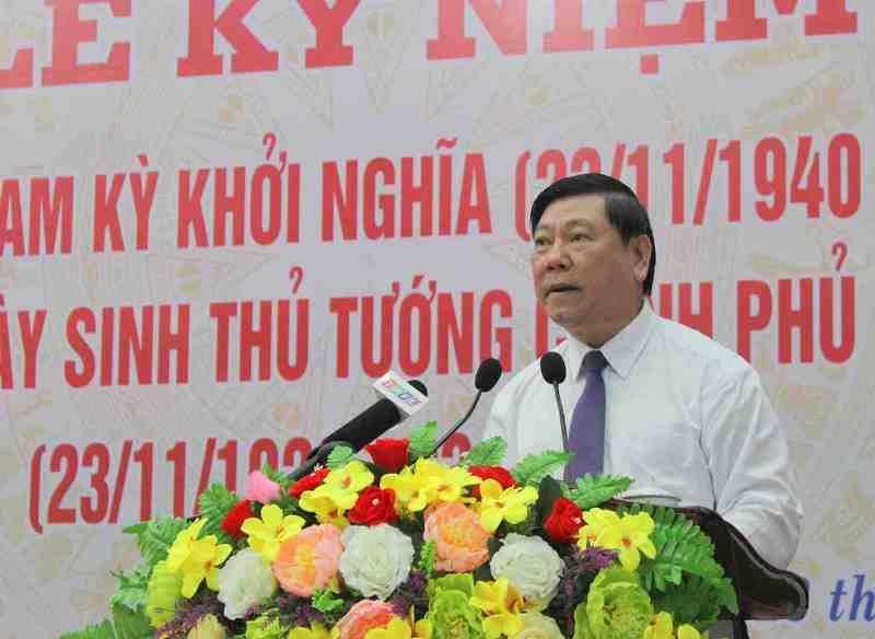 Kỷ niệm 80 năm Ngày Nam Kỳ khởi nghĩa và 98 năm Ngày sinh Thủ tướng Võ Văn Kiệt -0