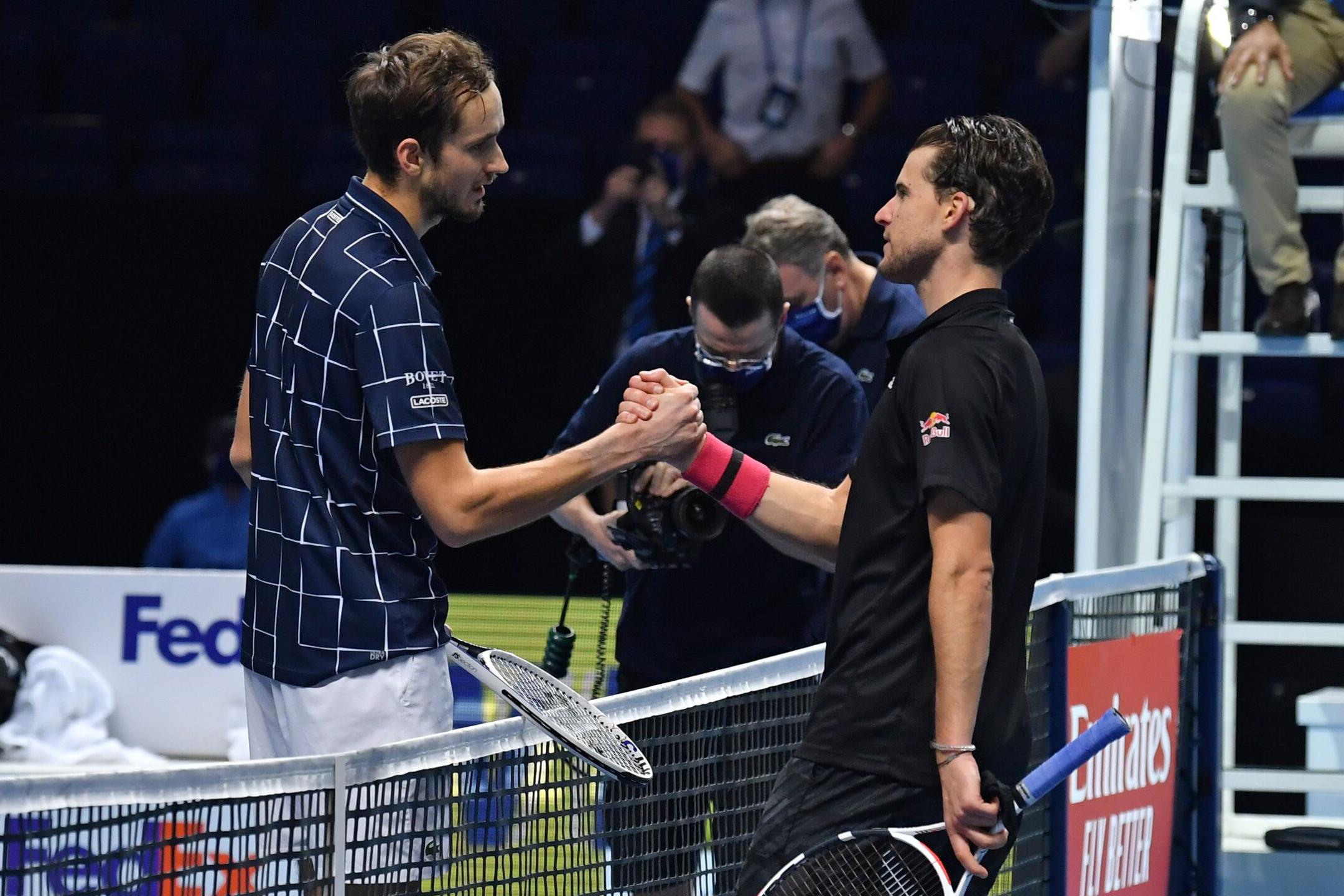 Daniil Medvedev vô địch ATP Finals 2020 -0