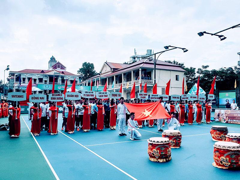 Khai mạc giải quần vợt VTF Masters 500-2-Lạch Tray Cup 2020 -0