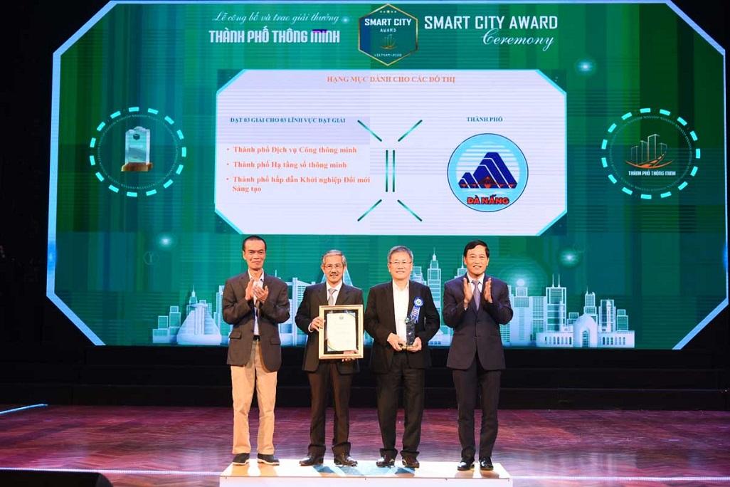 Trao Giải thưởng Thành phố Thông minh 2020 -0