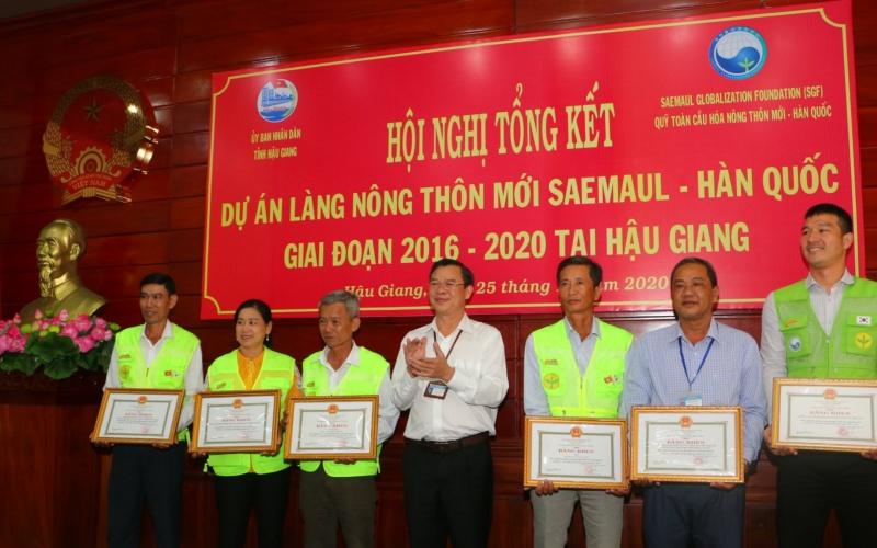 Xây dựng thành công hai làng nông thôn mới đầu tiên ở ĐBSCL -0