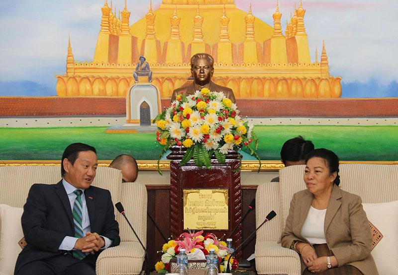 Chúc mừng Quốc khánh Lào lần thứ 45 -0