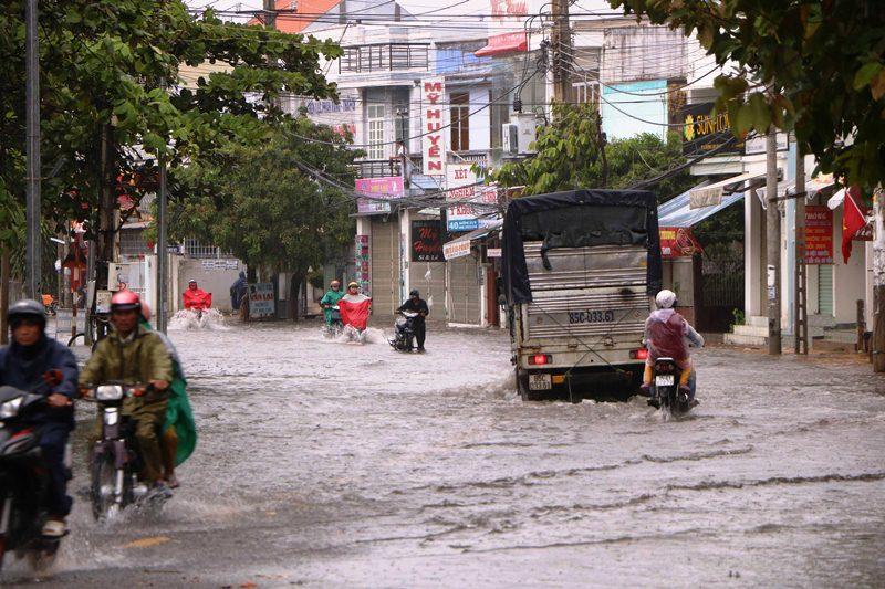 Mưa lũ gây nhiều thiệt hại ở Ninh Thuận -0