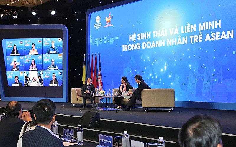 Khai mạc Diễn đàn Doanh nhân trẻ ASEAN năm 2020 -0