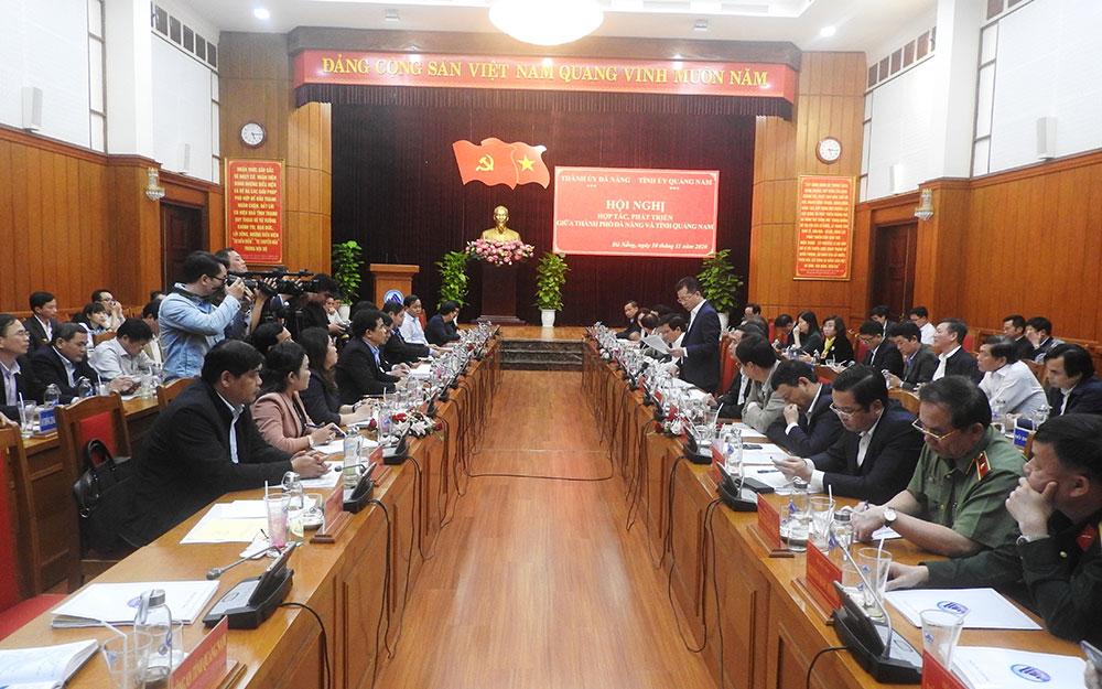 Bàn giải pháp hợp tác, phát triển chung Quảng Nam - Đà Nẵng -0
