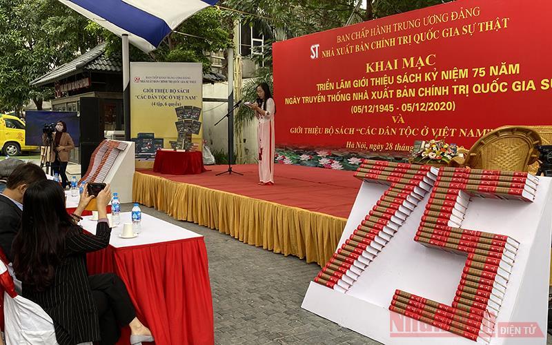 NXB Chính trị quốc gia Sự thật – 75 năm xây dựng và phát triển -0