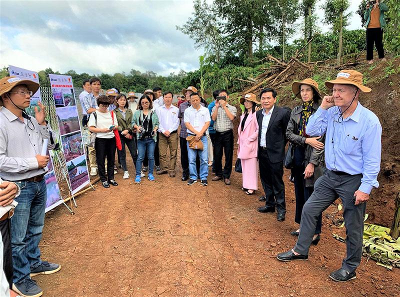 Hiệu quả Chương trình cảnh quan bền vững xây dựng vùng nguyên liệu quy mô lớn được xác nhận ở Đắk Lắk -0