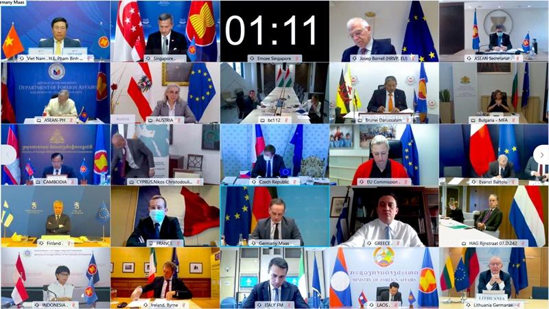 Hội nghị Bộ trưởng Ngoại giao ASEAN-EU lần thứ 23 -0