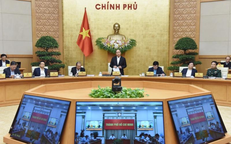 Thủ tướng Nguyễn Xuân Phúc chủ trì họp Chính phủ thường kỳ tháng 11 -0