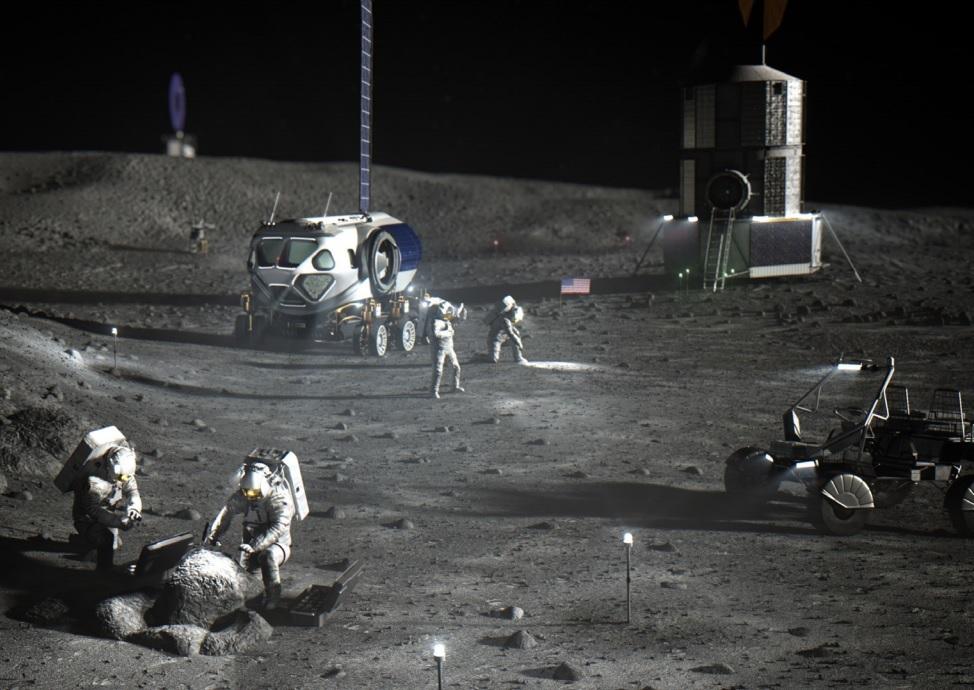 Trung Quốc hạ cánh thành công tàu vũ trụ lấy mẫu đá trên mặt trăng -0
