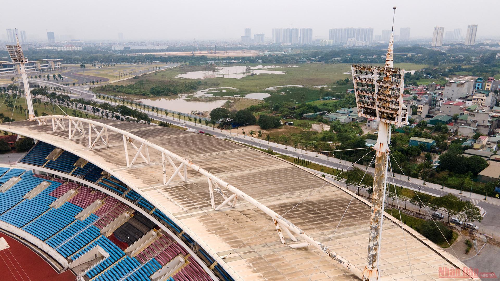 Cận cảnh công trường nâng cấp Sân vận động quốc gia Mỹ Đình phục vụ SEA Games 31 -0