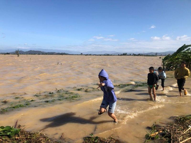 Nhiều địa phương ở Đắk Nông ngập chìm trong nước -0