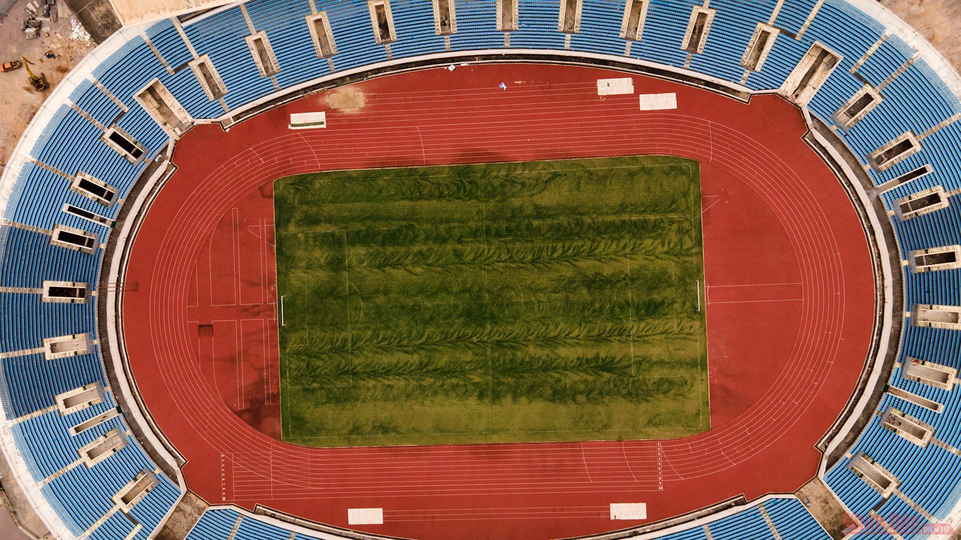 Cận cảnh công trường nâng cấp Sân vận động quốc gia Mỹ Đình phục vụ SEA Games 31 -1