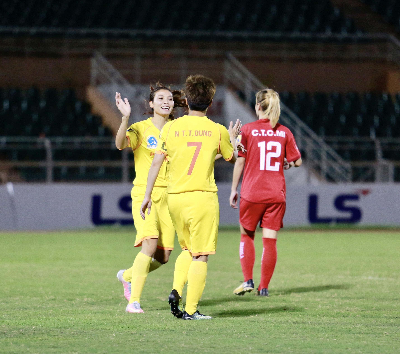 Than KS Việt Nam và PP Hà Nam đều giành 3 điểm -0