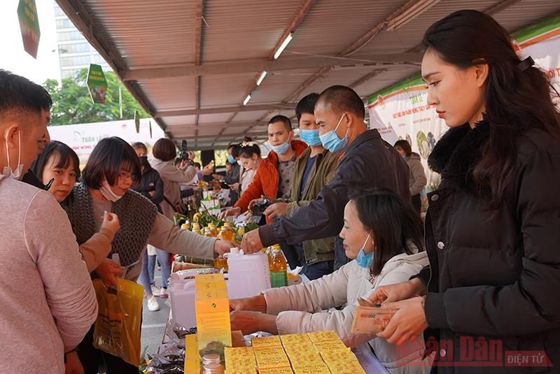 Quảng bá hàng nông sản Yên Bái tại Thủ đô Hà Nội -0