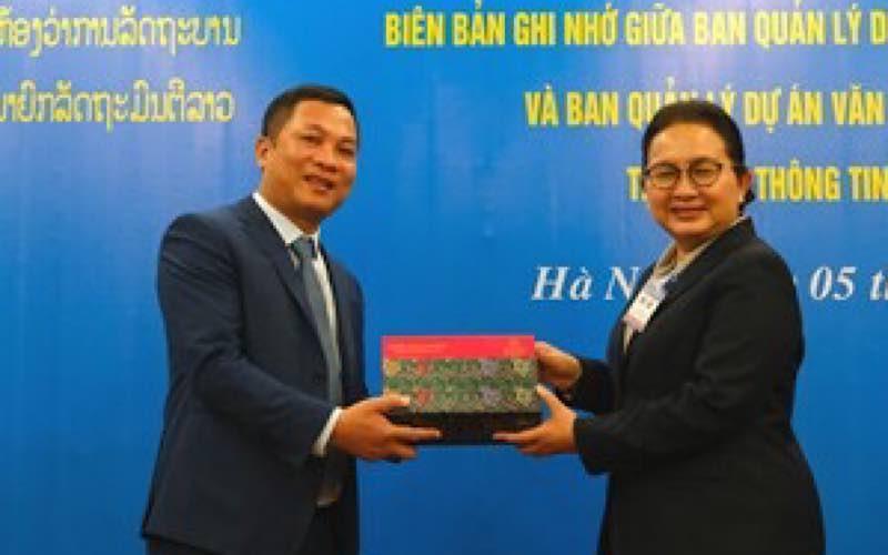 VGP triển khai dự án hợp tác với Văn phòng Phủ Thủ tướng Lào -0
