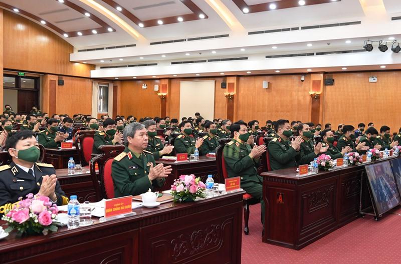 Hội nghị cán bộ chính trị toàn quân năm 2020 -0
