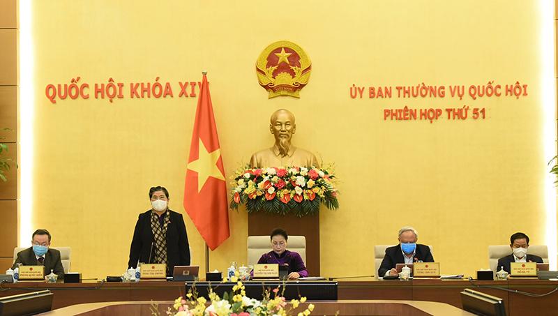 Khai mạc Phiên họp thứ 51 của Ủy ban Thường vụ Quốc hội -0