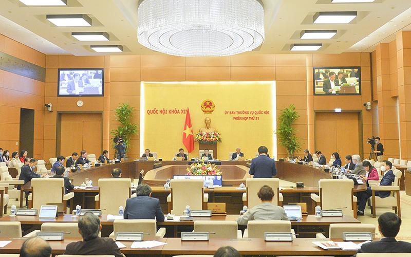 Bế mạc Phiên họp thứ 51 của Ủy ban Thường vụ Quốc hội -0