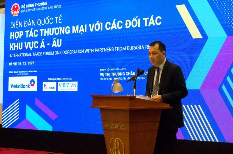 Thương mại song phương Việt Nam - khu vực Á-Âu tăng trưởng tích cực -0