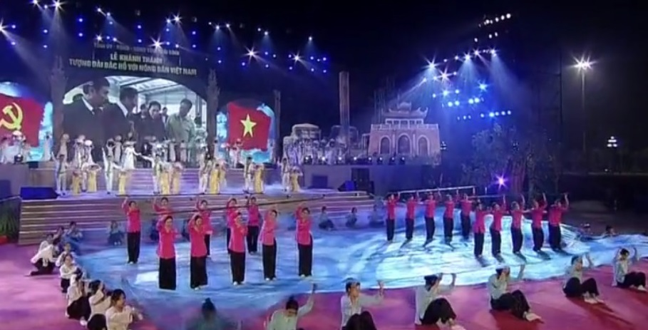Khánh thành tượng đài Bác Hồ với nông dân Việt Nam -0