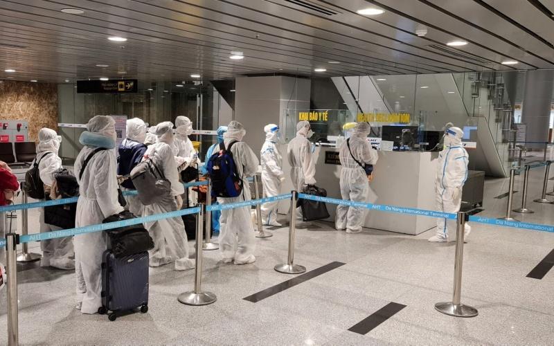 Cảng hàng không quốc tế Đà Nẵng đạt kiểm chuẩn y tế sân bay -0